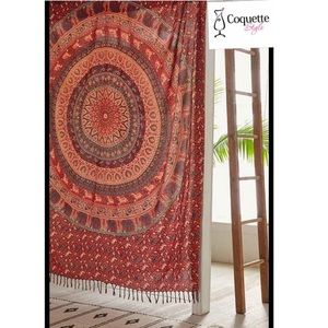 UO Magical thinking menagerie medallion tapestry.